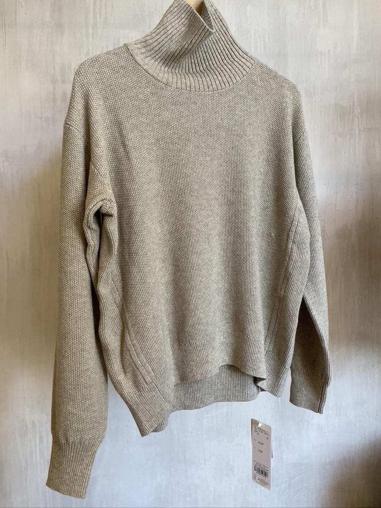 high neck pull beige-2