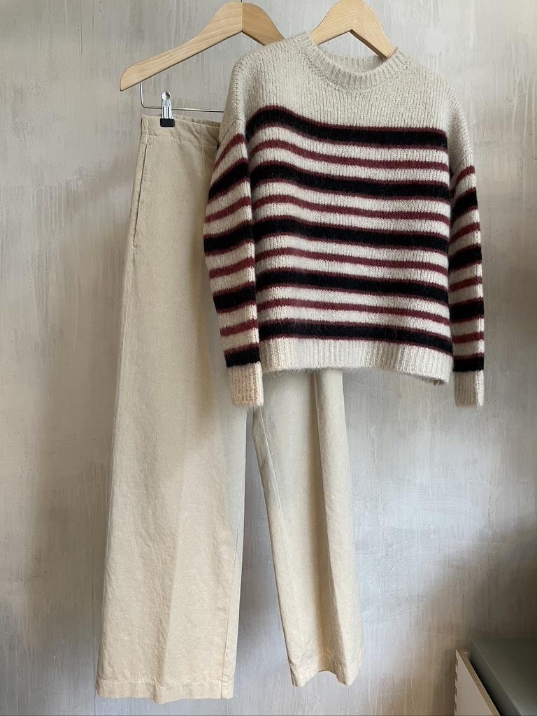 knit  stripe bordeau-6