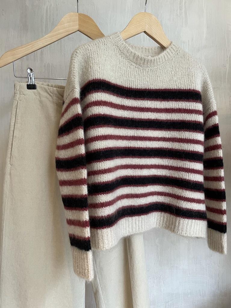 knit  stripe bordeau-4