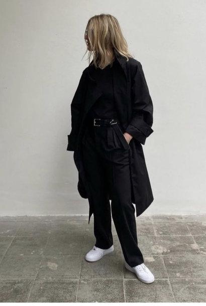 ricka coat black