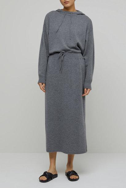 skirt knit grey