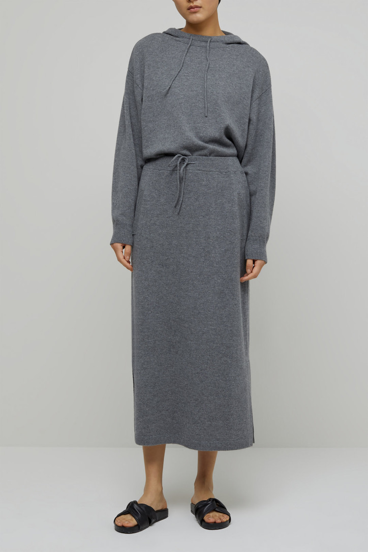 skirt knit grey-1