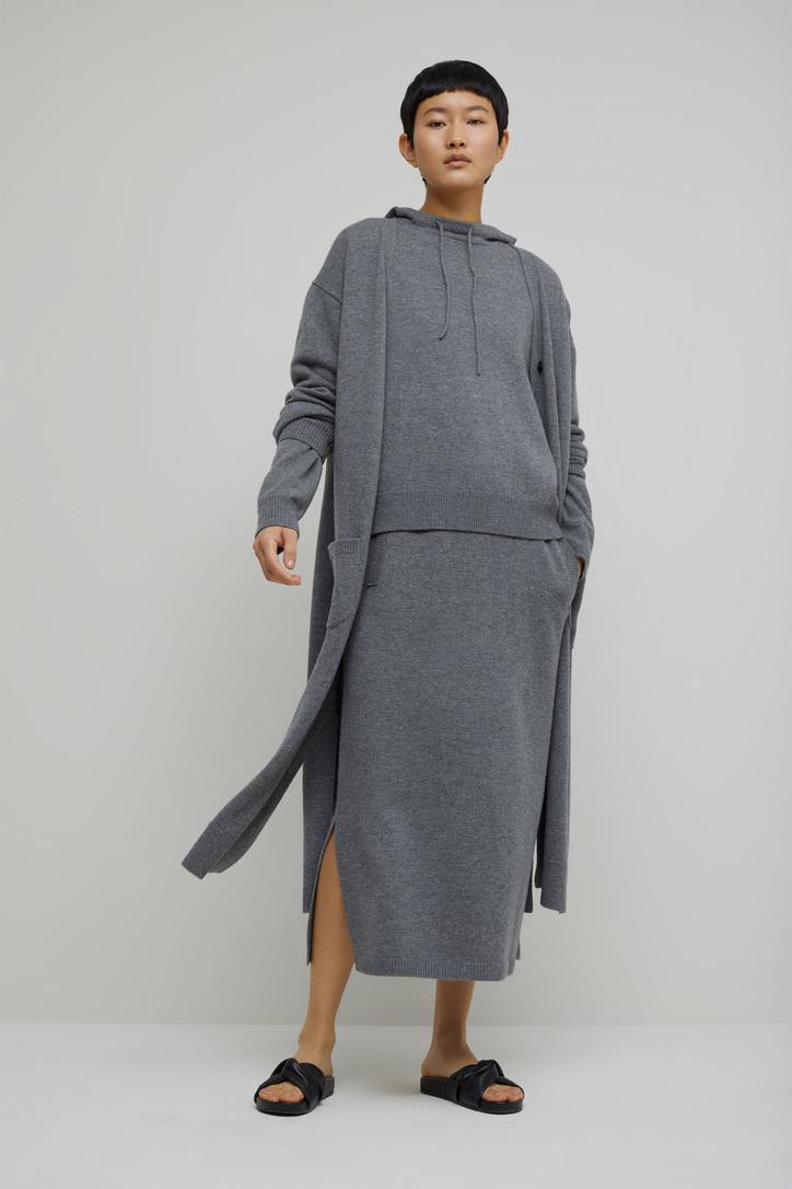 skirt knit grey-2