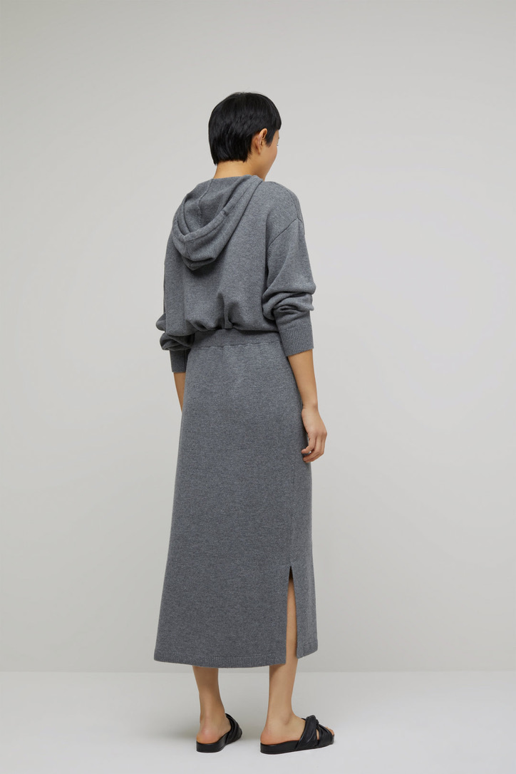 skirt knit grey-4