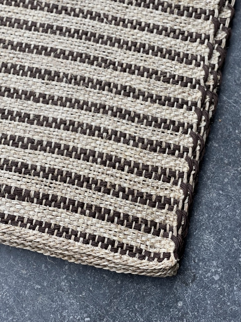 placemat rustic marroon-2