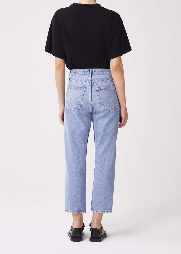 90' crop mid rise loose straight replica-2