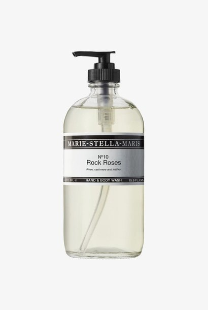hand & body wash rock roses