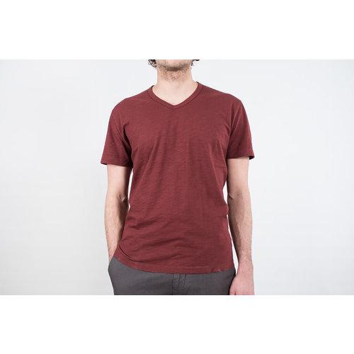 7d 7d T-shirt / Ninety-Three / Burgundy