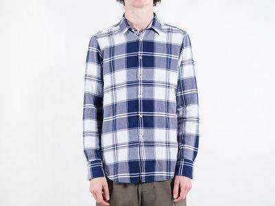 7d 7d Overhemd / Fourty-Four Check / Blauw