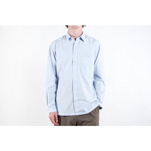 7d 7d Overhemd / Fourty-Nine Solid Pop / Sky