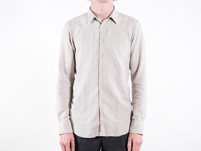 7d 7d Overhemd / Fourty-Four Sponge / Beige
