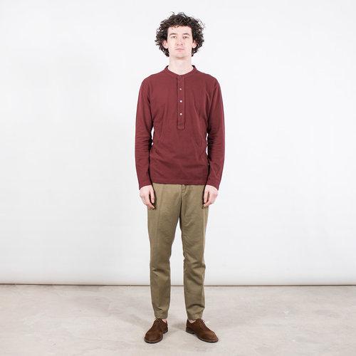 7d 7d T-Shirt / Sixty-Six / Burgundy