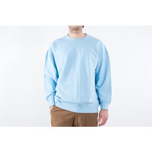 Universal Works Universal Works Trui / Oversized Sweatshirt / Blauw