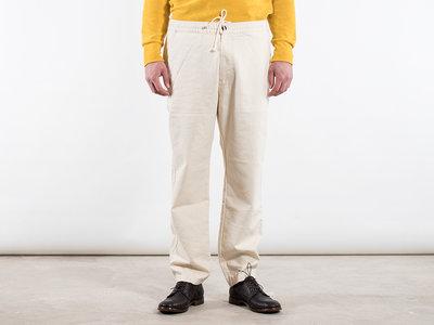 Universal Works Universal Works Broek / Track trousers twill / Ecru