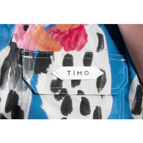 Timo Timo Swimming Trunks / Long Prep / Blue