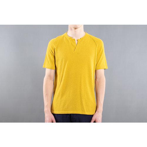 Roberto Collina Roberto Collina Serafino shirt / RA44143 / Geel
