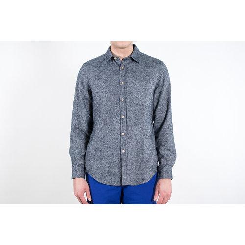 Portuguese Flannel Portuguese Flannel Overhemd / Teca / Grijs