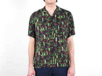 Portuguese Flannel Portuguese Flannel Overhemd / Cactus / Zwart