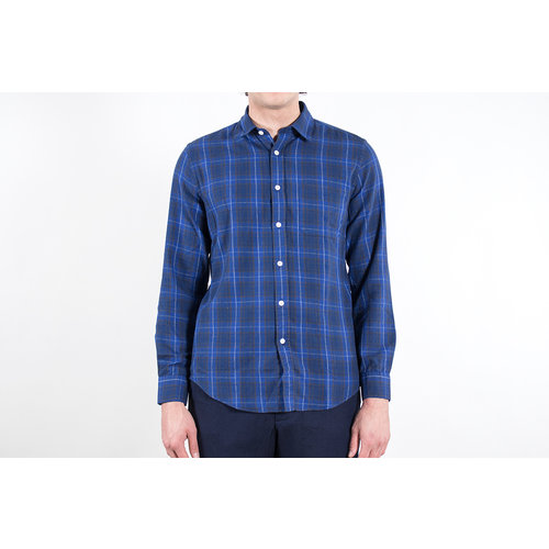 Portuguese Flannel Portuguese Flannel Overhemd / Oxnard / Blauw