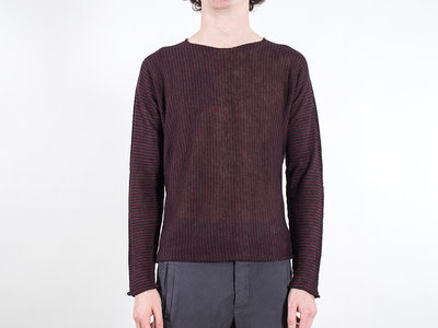Hannes Roether Hannes Roether Sweater / Damast / Red