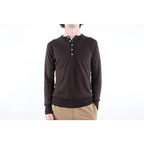 G.R.P. Firenze G.R.P. Firenze Henley sweater / Henley Lungo / Brown