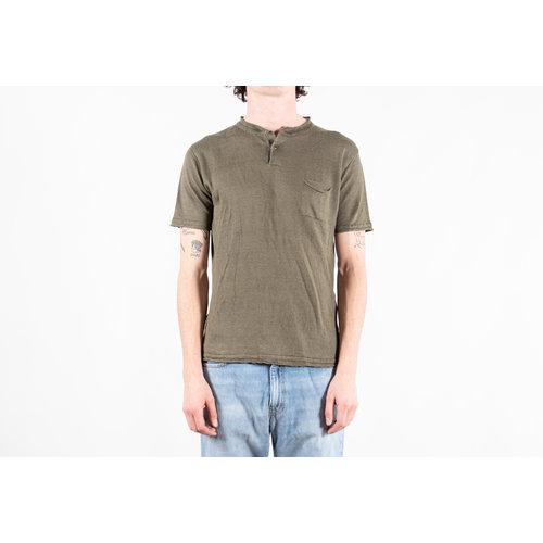 G.R.P. Firenze G.R.P. Firenze T-Shirt / Neo Henley / Green