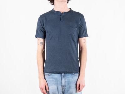 G.R.P. Firenze G.R.P. Firenze T-Shirt / Neo Henley / Blue