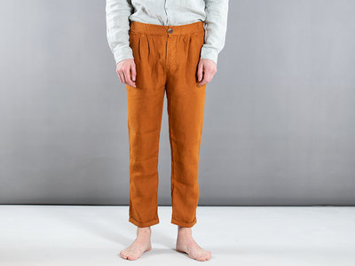 Fox Haus Fox Haus Trousers / Espiga / Orange