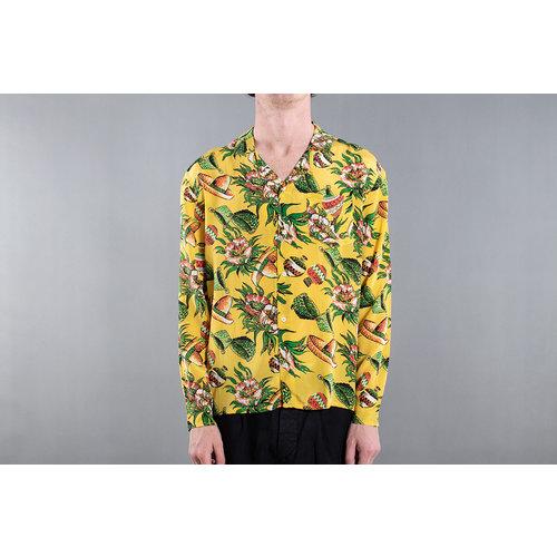 Fox Haus Fox Haus Overhemd / Enchiladas Hawai / Geel