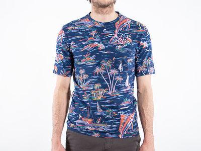 Fox Haus Fox Haus T-shirt / Marlin / Blue