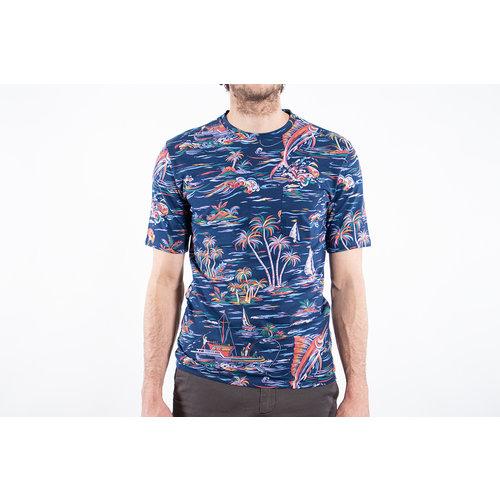 Fox Haus Fox Haus T-shirt / Marlin / Blauw