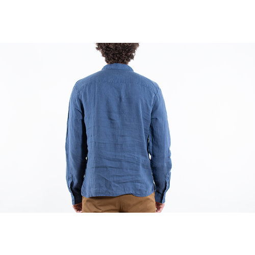 Fox Haus Fox Haus Overhemd / Jungle Regular / Blauw