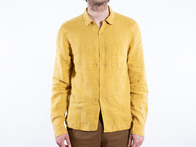 Fox Haus Fox Haus Overhemd / Jungle Regular / Geel