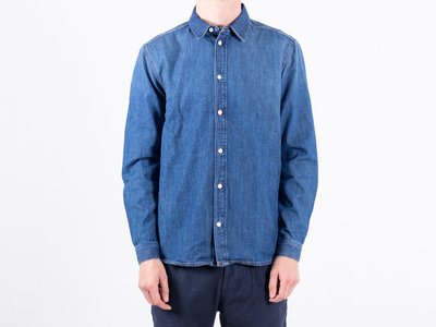 Tiger of Sweden Tiger of Sweden Shirt / Pure / Denim blue