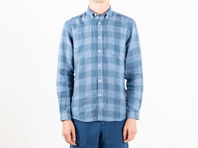 Portuguese Flannel Portuguese Flannel Overhemd / Square / Blauw
