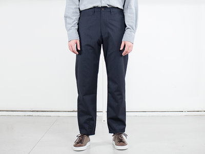 Universal Works Universal Works Trousers / Loose Pant / Charcoal Blue