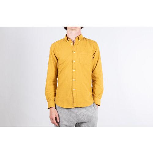 Geel Overhemd.Portuguese Flannel Overhemd Belavista Geel C R I S