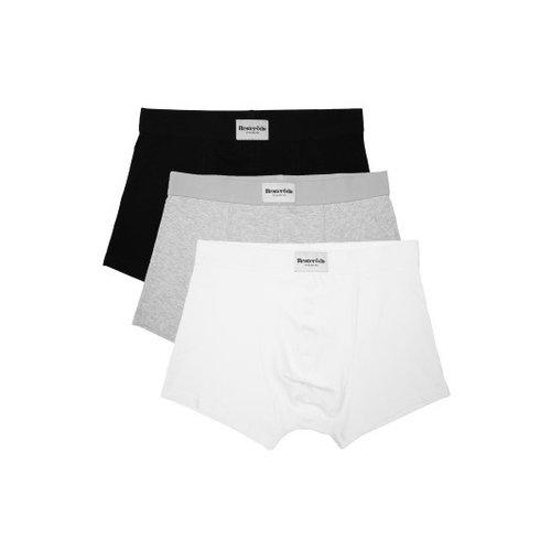 Resteröds Resterods / Boxershorts / Black-White-Grey