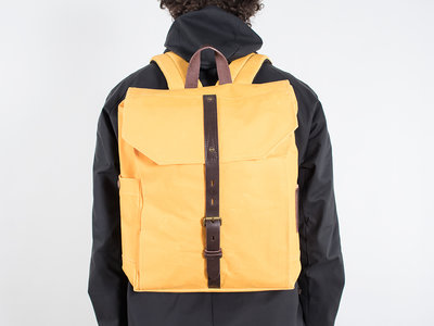 Property of.. Property of...Backpack / Hector backpack / Yellow