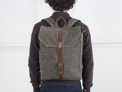 Property of.. Property of...Rugtas / Hector backpack / Groen
