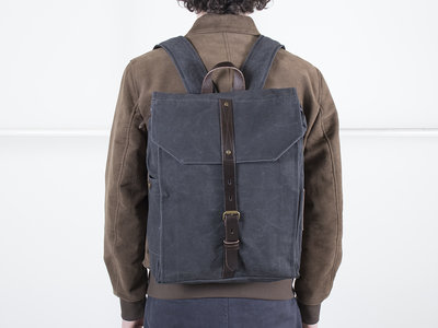 Property of.. Property of...Backpack / Hector backpack / Coal blue