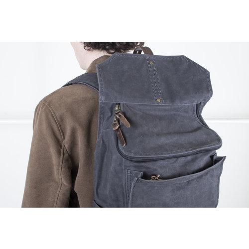 Property of.. Property of...Rugtas / Hector backpack / Grijs blauw
