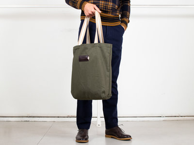 Property of.. Property of...Bag / Totebag / Green