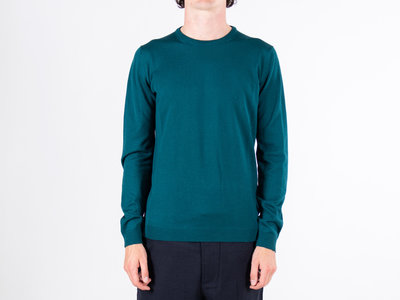 Roberto Collina Roberto Collina Sweater / RB01001 / Cyan Blue