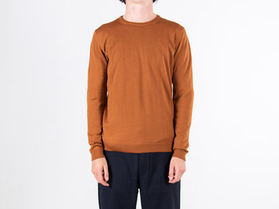 Roberto Collina Roberto Collina Sweater / RB01001 / Orange Brown