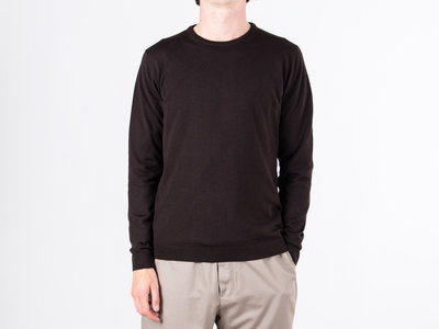Roberto Collina Roberto Collina Sweater / RB01001 / Dark Brown