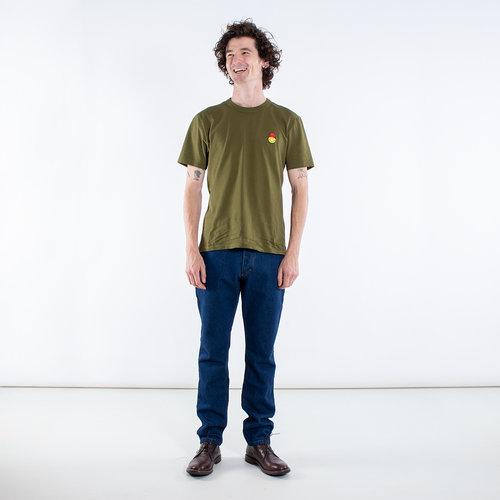 Ami Ami T-Shirt / SMIJ109.702 / Olijfgroen