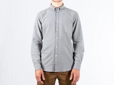 Portuguese Flannel Portuguese Flannel Overhemd / Belavista / Lichtgrijs