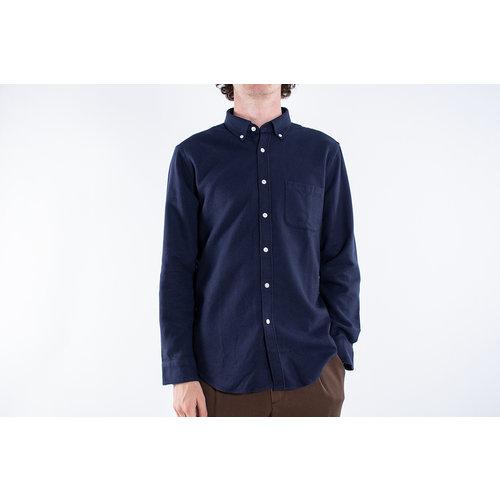Portuguese Flannel Portuguese Flannel Shirt / Suave Blue / Dark blue