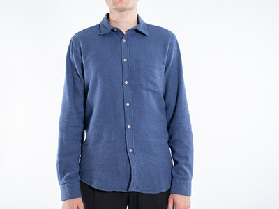 Portuguese Flannel Portuguese Flannel Overhemd / Teca / Blauw